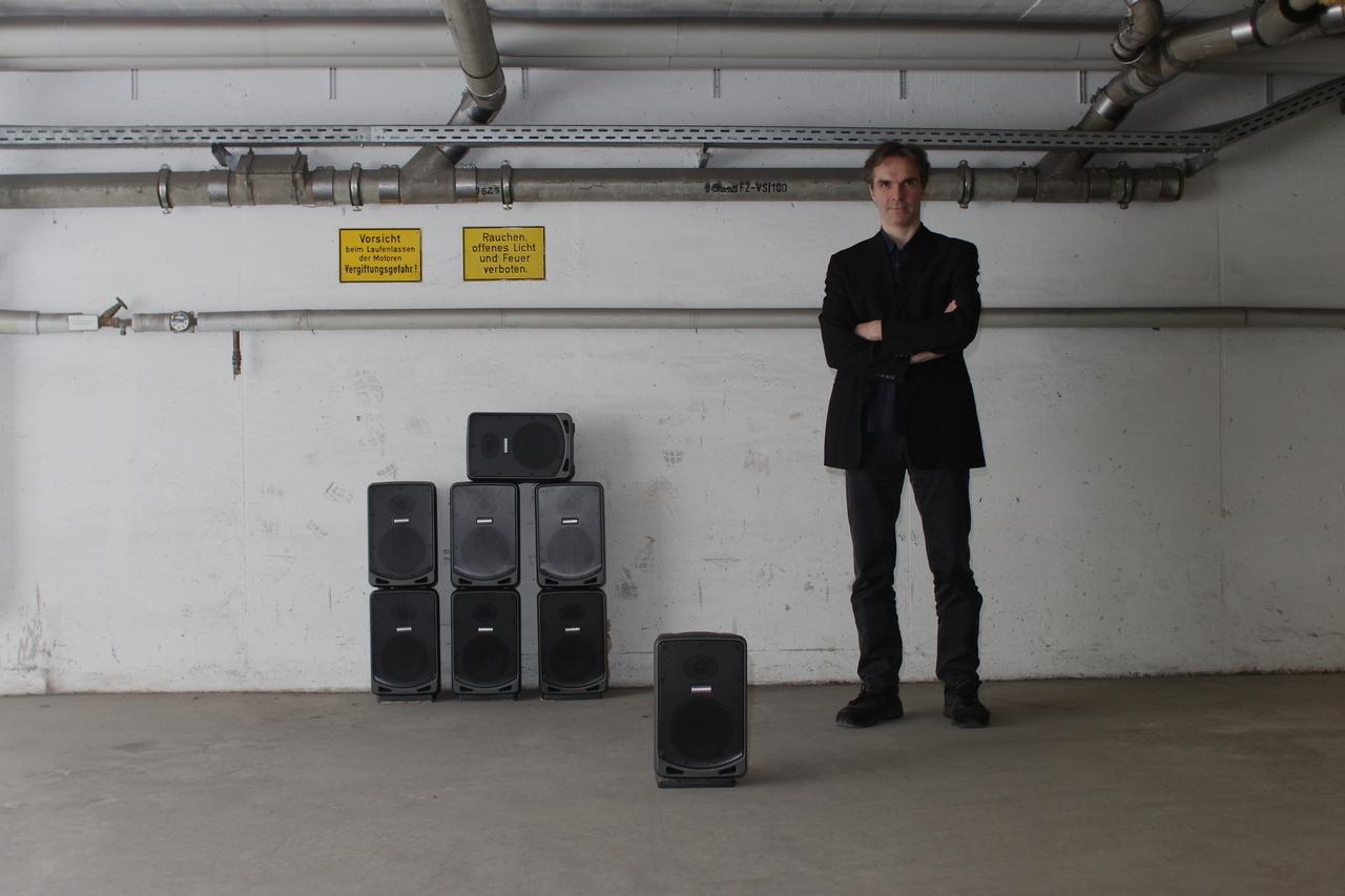 Till Hass - mikrotonale klanginstallation - Foto: Alexander Mayer